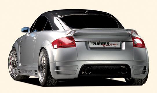 Reiger - RSX Boot Spoiler and rear bumper audi tt mk1 ...