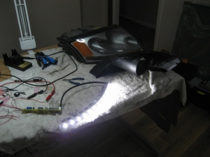 LED light strip Audi TT