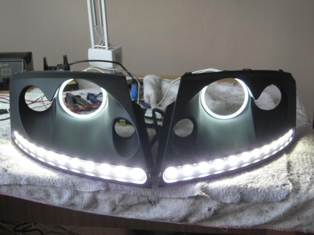 Original 8n Headlight : Audi tt led drls headlights mk n tuning