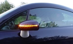 Naresh AK57HAY Mirrors LED Car Turn Signal Indicator Mirror - Audi TT MK1 (8N)