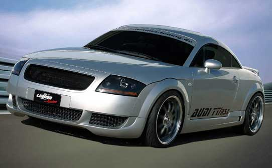 Lumma RSX Body Kit Audi TT 8N Mk1 (Germany)