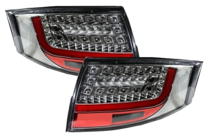 Audi TT 8N LED Rear Tail Lights CHROME Rearlights not lit