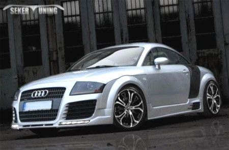2002 audi tt quattro body kit