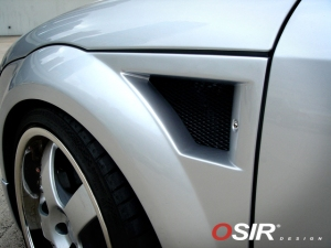 OSIR V1 Vented Fender Kit for the Audi TT Mk1 (8N)