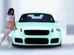 Audi-TT-8N-MK1-lingerie-chick