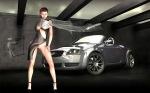 audi-tt-8n-mk1-sexy-girl-3d-rendering