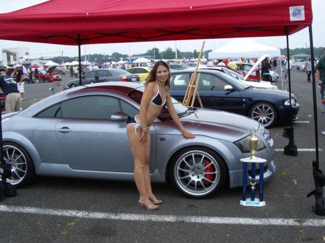 Audi TT 8J RS Front Bumper Body Kit - Meduza Design Ltd