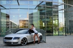Audi-TT-8N-Sexy-German-Brunette-Long-Legs