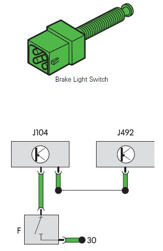 Brake Light Switch F
