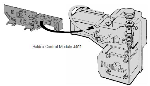 Haldex Control Module J492