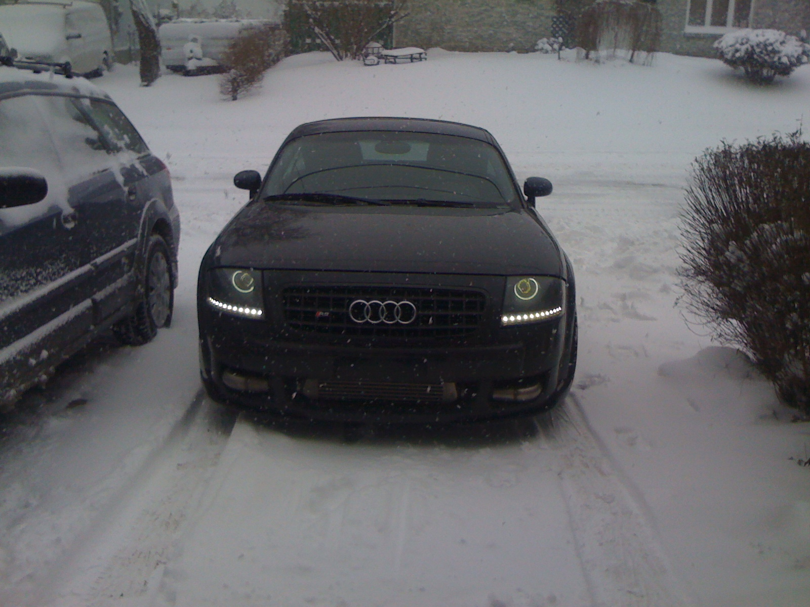 Audi TT 3.2 Turbo & Snow…