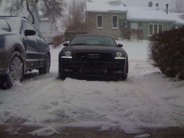 Audi TT 3.2 Turbo & Snow...