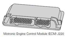 Motronic Engine Control Module (ECM) J220