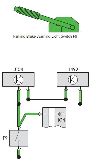 Parking Brake Warning Light F9