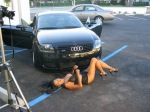 Audi TT Quattro Babe Car Girl