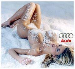 Audi Babe Nude