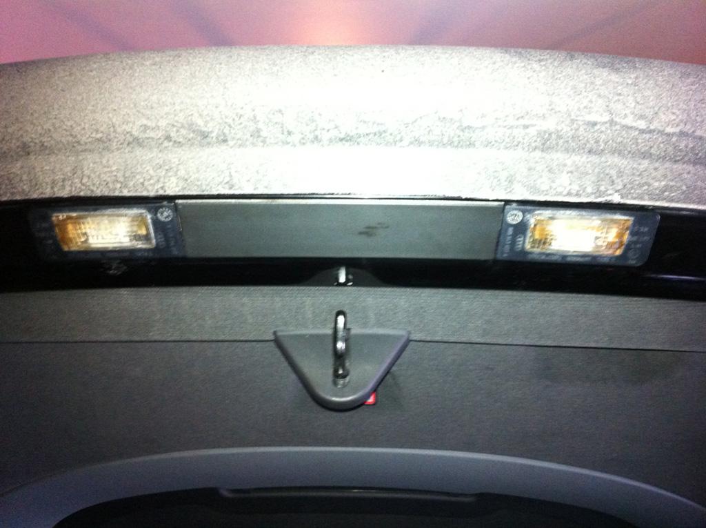 Led License Plate Lights On My Audi Tt Audi Tt Mk1 8n