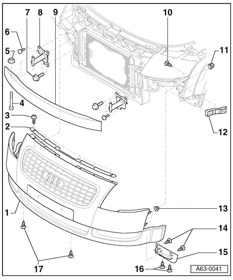 audi tt headlight schematic
