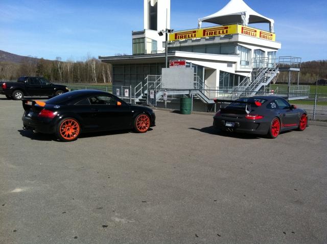 TTRS (MK1) vs GT3 RS - 2
