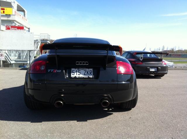 TTRS (MK1) vs GT3 RS - 3