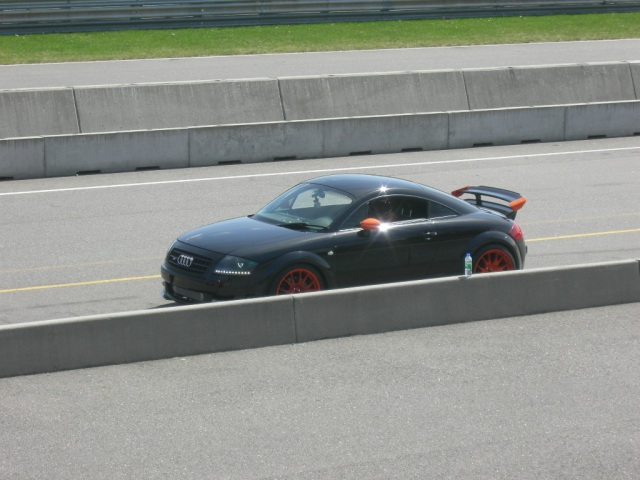Audi TT RS MK1 on the race track - 3