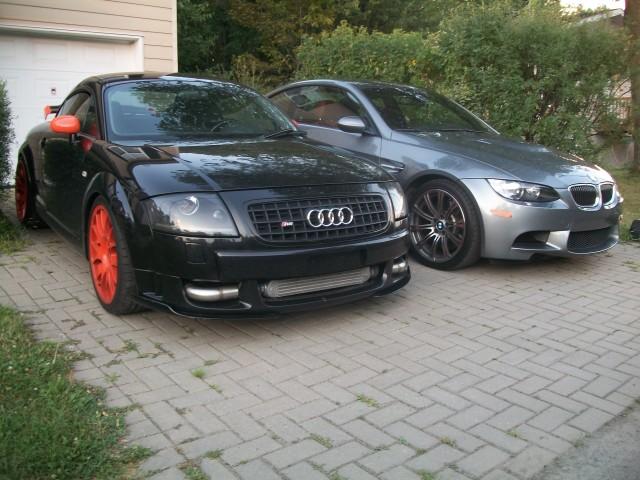 Audi TT RS MK1 & BMW M3 E92