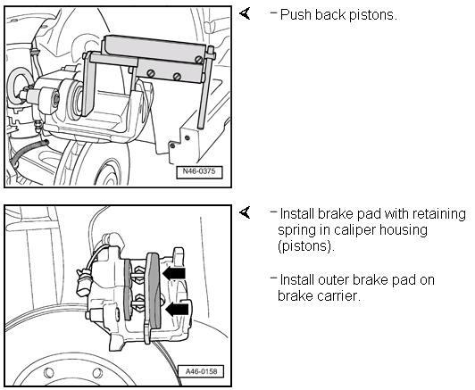 Brake Pad Installation (Audi TT MK1