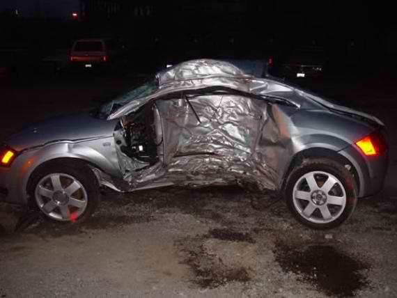 Pictures Of Audi Tt Accidents Crashes Amp Collisions Audi