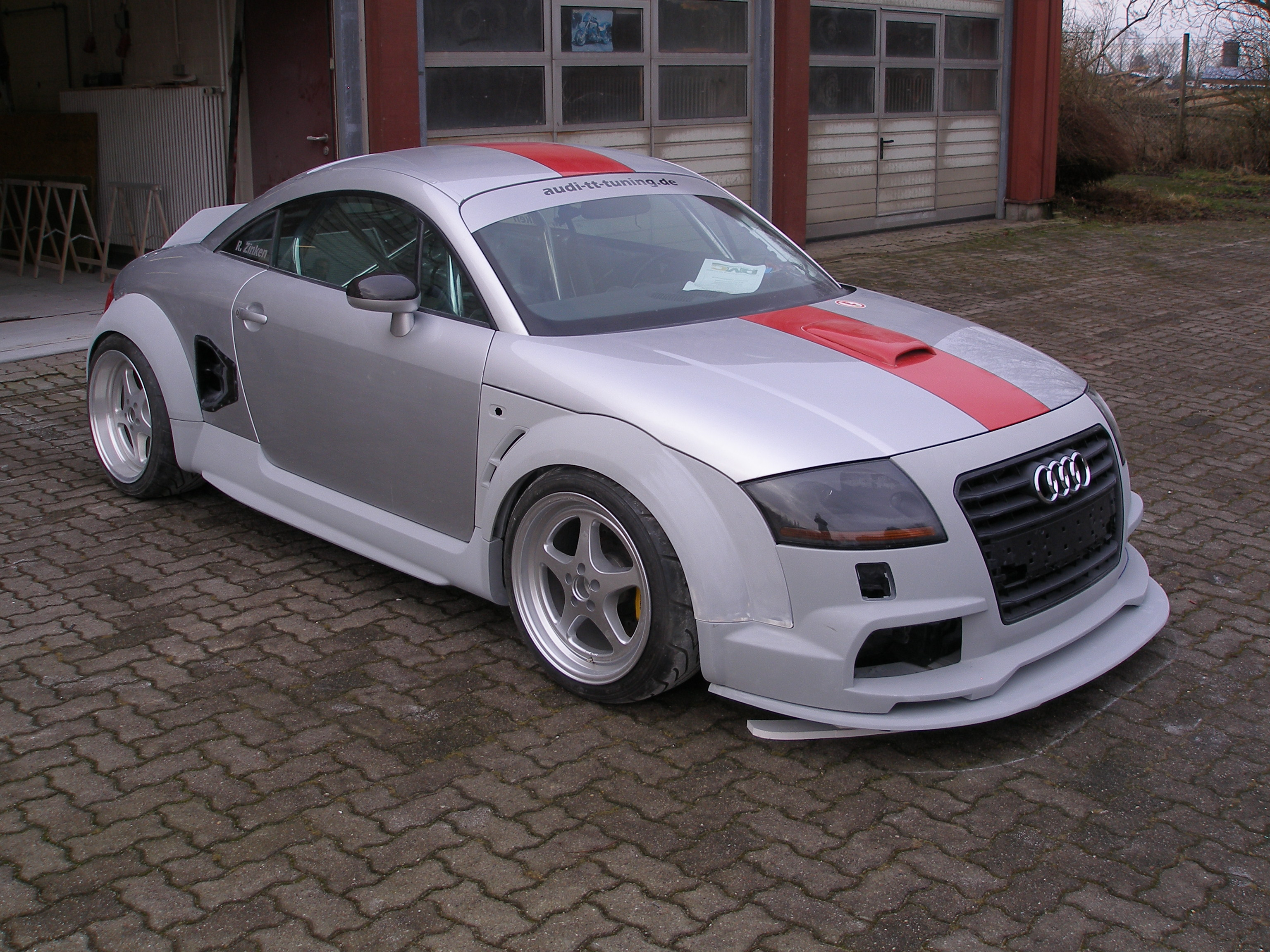 dmc widebody kit project coming to life very soon audi. Black Bedroom Furniture Sets. Home Design Ideas