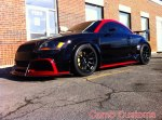 audi tt 8n mk1 custom wide body kit