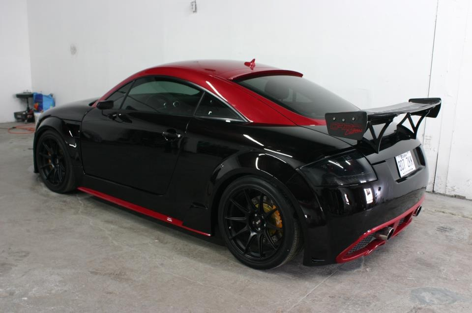audi tt custom wide body kit  u2013 tt authority