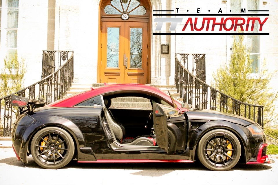 Audi Tt Custom Wide Body Kit Tt Authority Audi Tt
