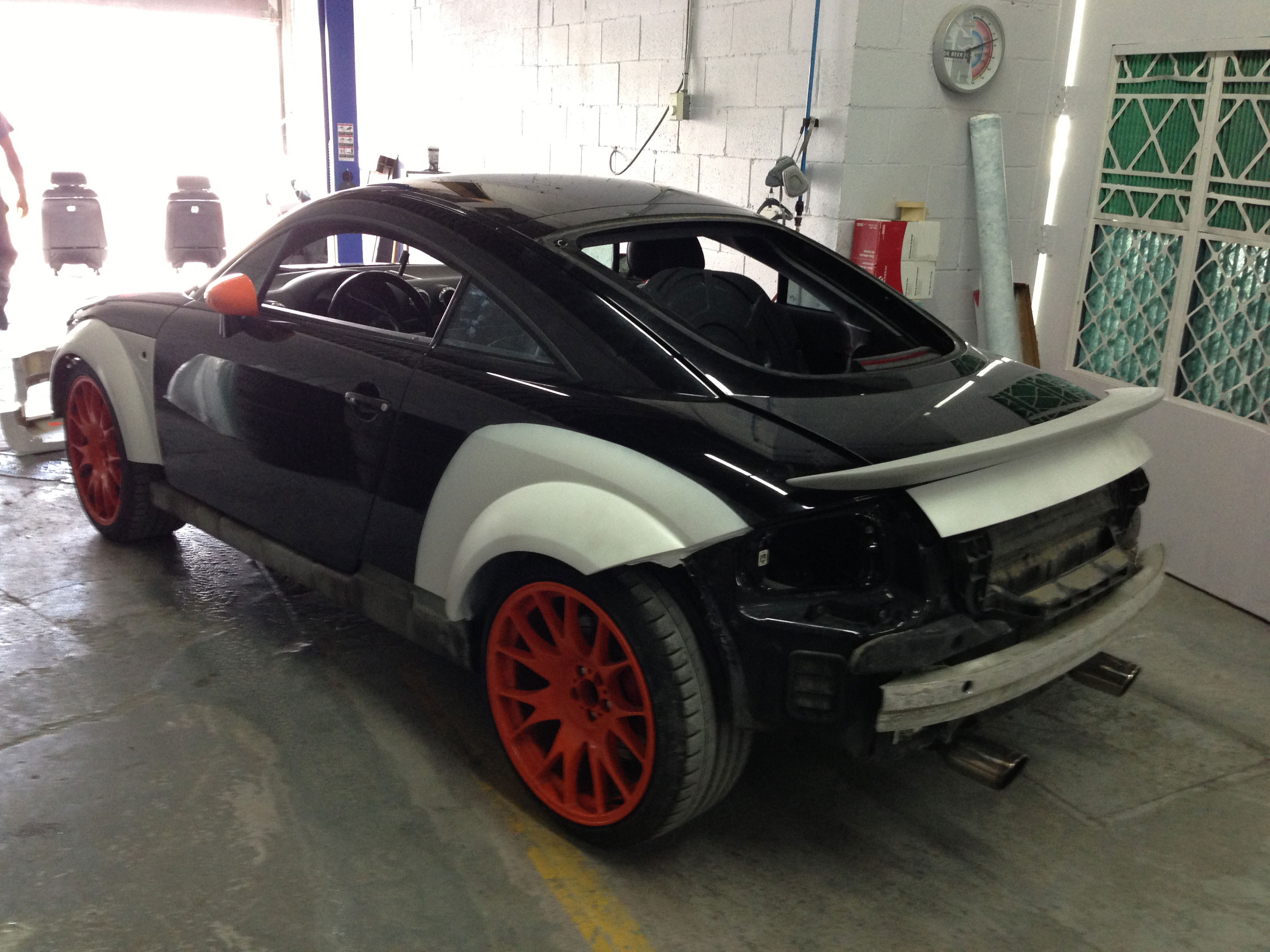 audi tt tuning paint preparation aka prep4paint audi tt. Black Bedroom Furniture Sets. Home Design Ideas