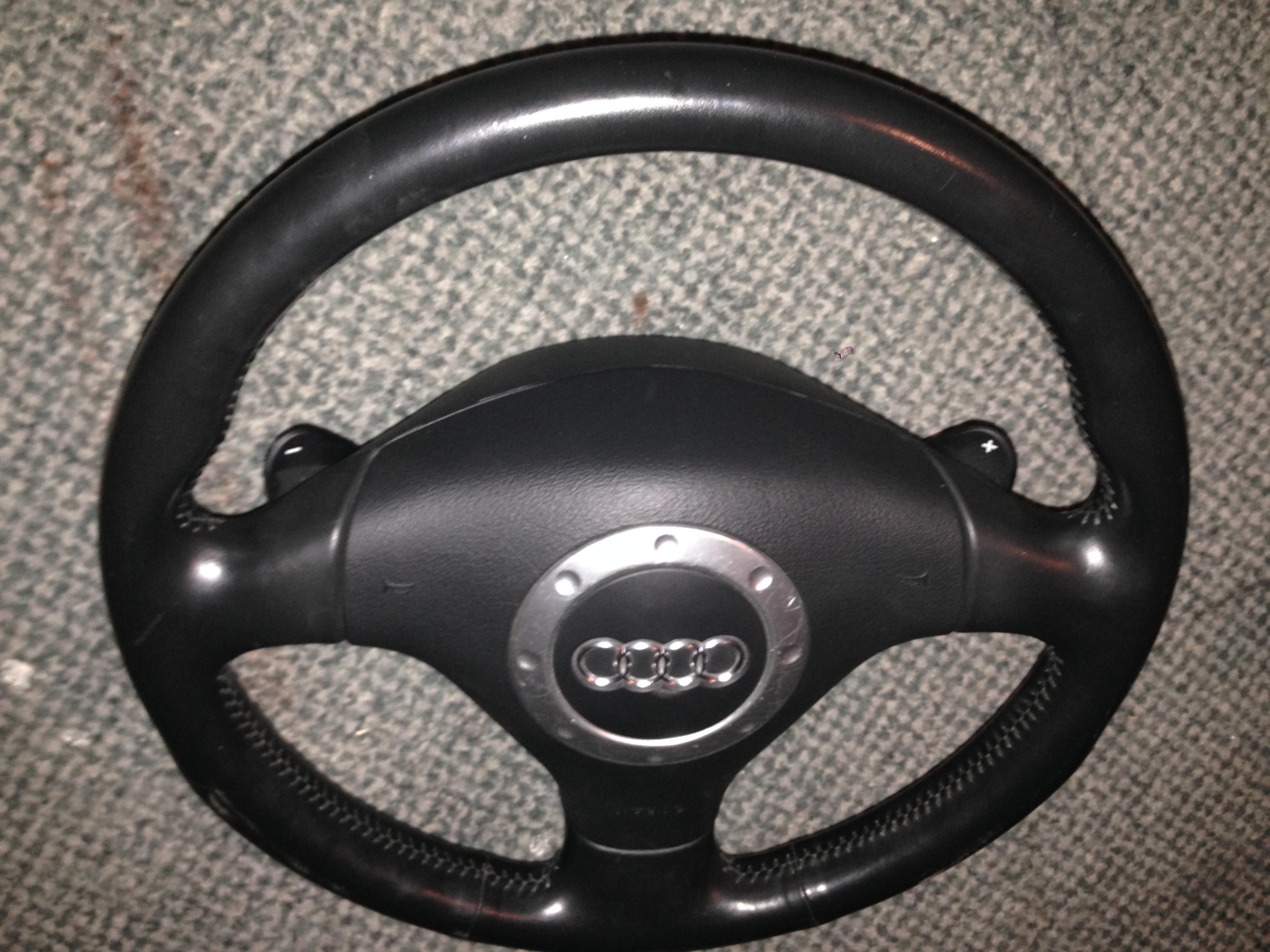Audi Tt Mk1 Steering Wheel Dsg With Airbag For Sale 3