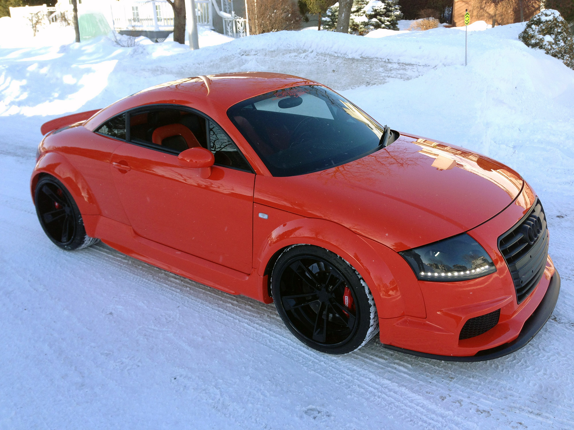 Audi Tt Tuning In Snow 1 Audi Tt Mk1 8n Tuning Parts
