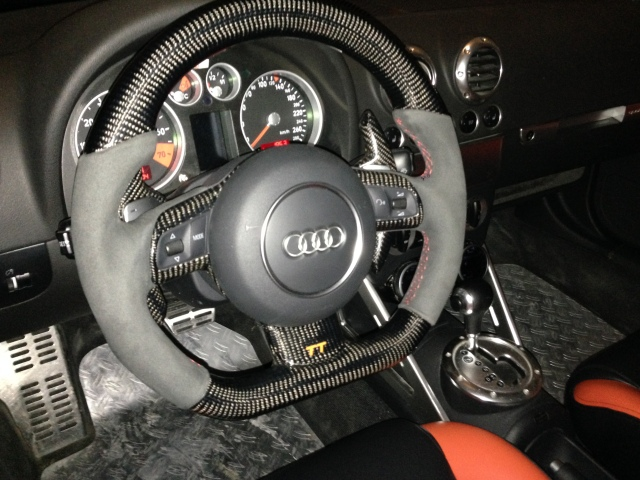audi tt tuning - Audi Flat Bottom Steering Wheel