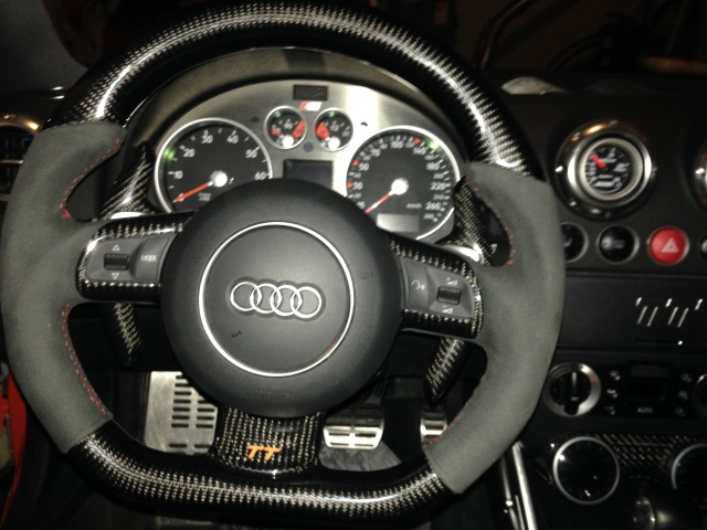 steering wheel conversion audi tt mk1