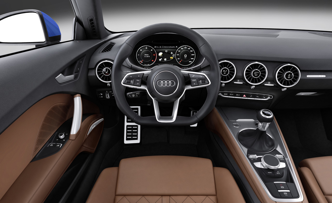 audi tt mk3  u2013 it u2019s all about the digital era