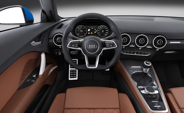 Audi TT MK3 interior