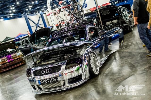 Audi TT Chrome Wrap