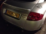 Audi TTB rear
