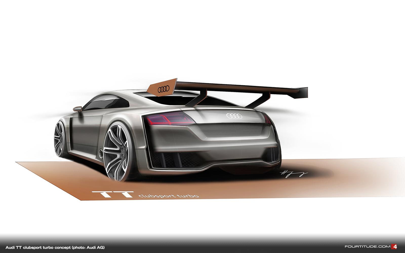 Audi Tt Clubsport Turbo Concept Audi Tt Mk1 8n Tuning Parts