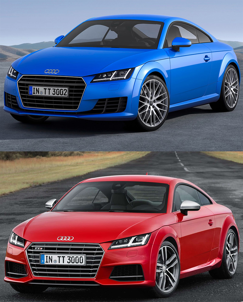 mk3 tt and tts side by side comparison audi tt mk1 8n. Black Bedroom Furniture Sets. Home Design Ideas